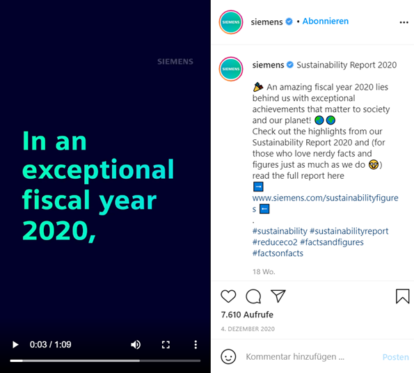 example siemens IG-Account
