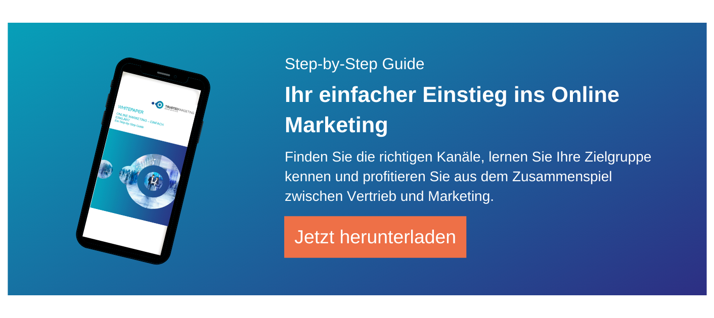 Whitepaper Einstieg ins Online Marketing